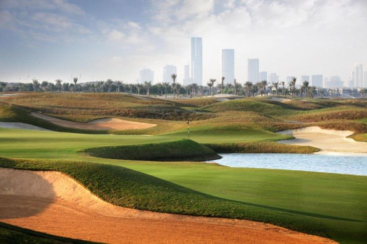 Terrain de golf de l'île de Saadiyat - Abou Dhabi - Emirats Arabes Unis