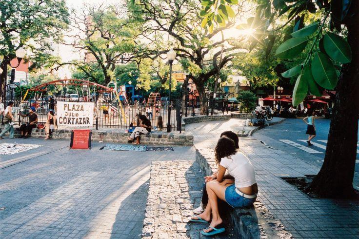 Place Julio Cortazar - Buenos Aires - Argentine