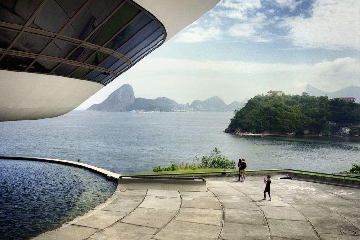 Musée d'art contemporain de Niteroi - Niteroi - Brésil