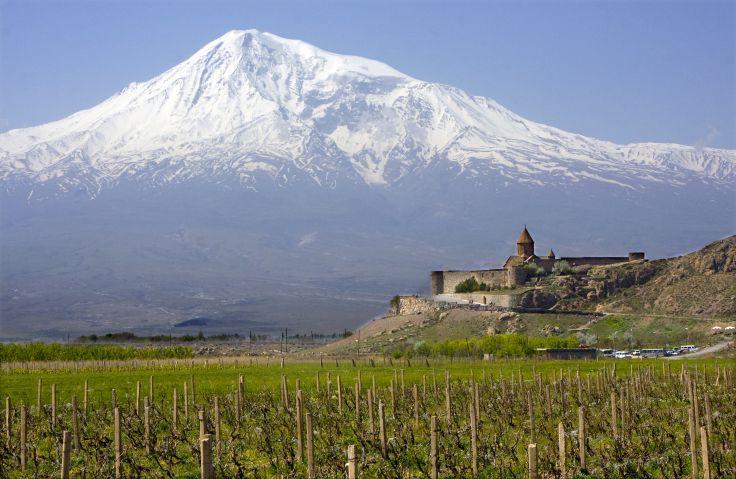 Monastère de Khor Virap et Mont Ararat - Arménie