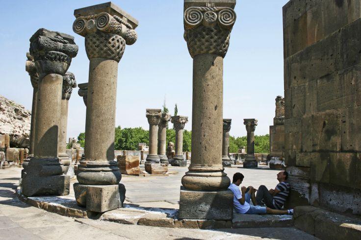 Zvartnots - Arménie