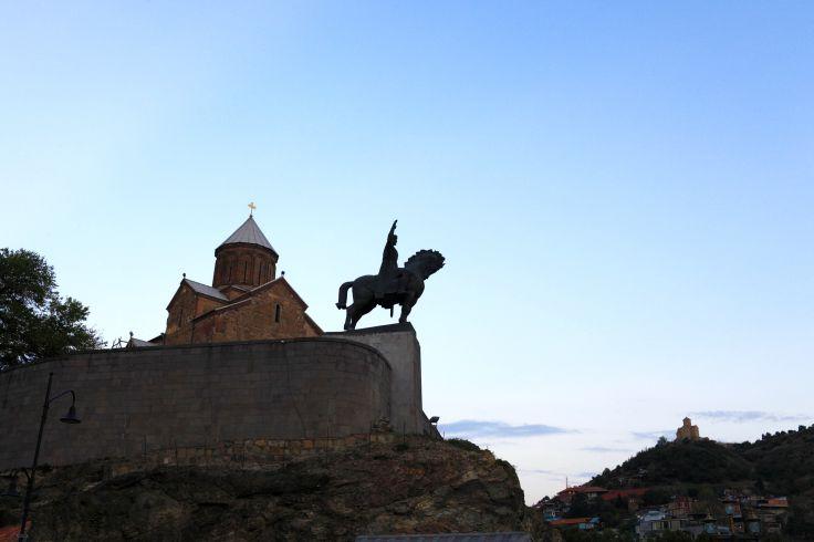Eglise de Metekhi - Tbilissi - Géorgie
