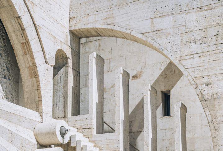 Monument de Cascade - Parc de la Victoire - Erevan - Arménie