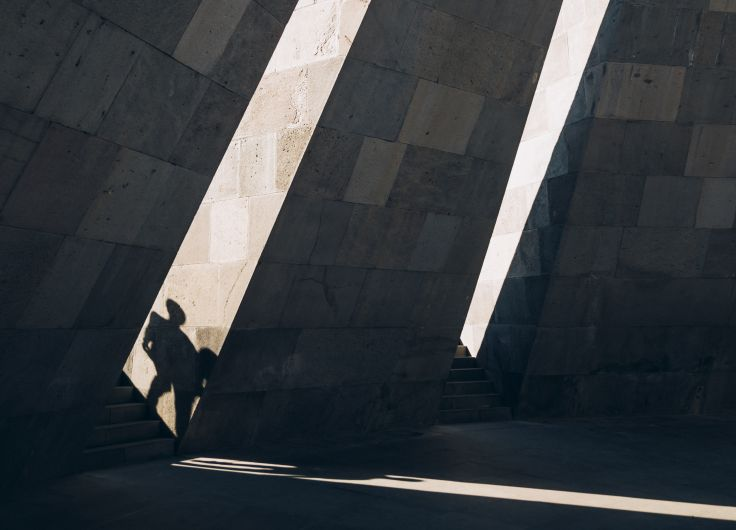 Tsitsernakaberd - Mémorial aux Victimes du Génocide Arménien - Erevan - Arménie
