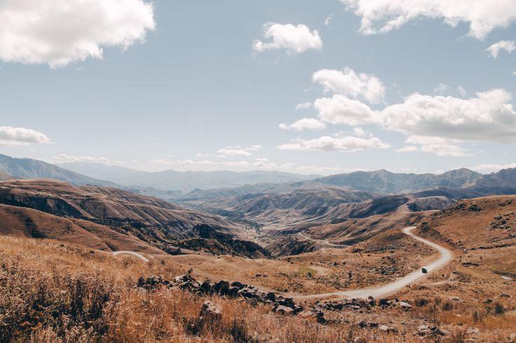 Route du Col de Sélim - Gegharkunik - Arménie