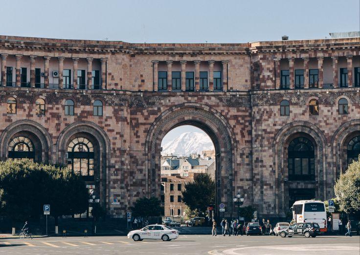Place de la République - Erevan - Arménie
