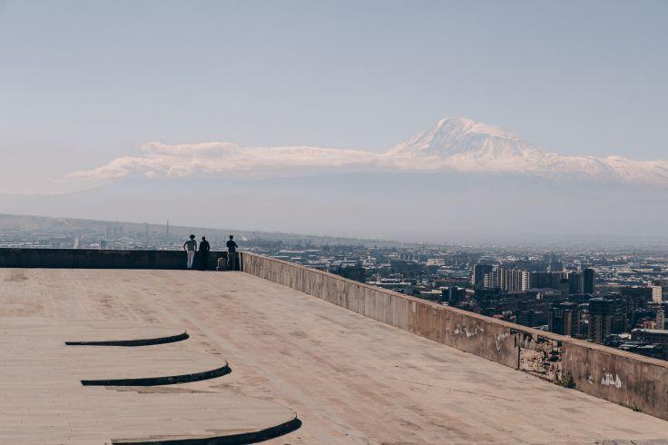 Belvédère de la Statue de la Mère Arménie - Erevan - Arménie
