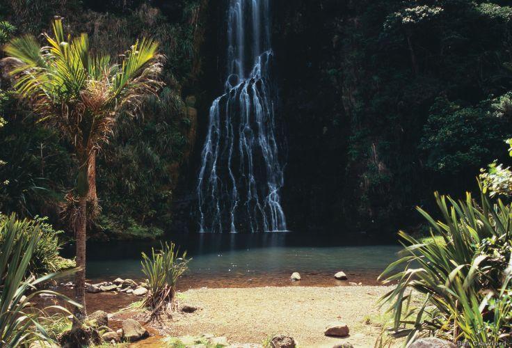 Karekare Falls - Ile du Nord - Nouvelle Zelande