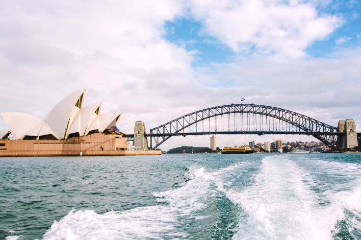 Le Harbour Bridge - Sydney - Australie