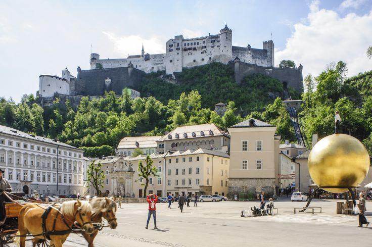 Rococo & Sachertorte - Vienne, Salzbourg & Munich en train