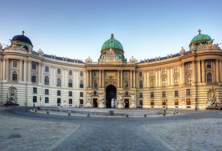 Le palais impérial Hofburg - Vienne - Autriche