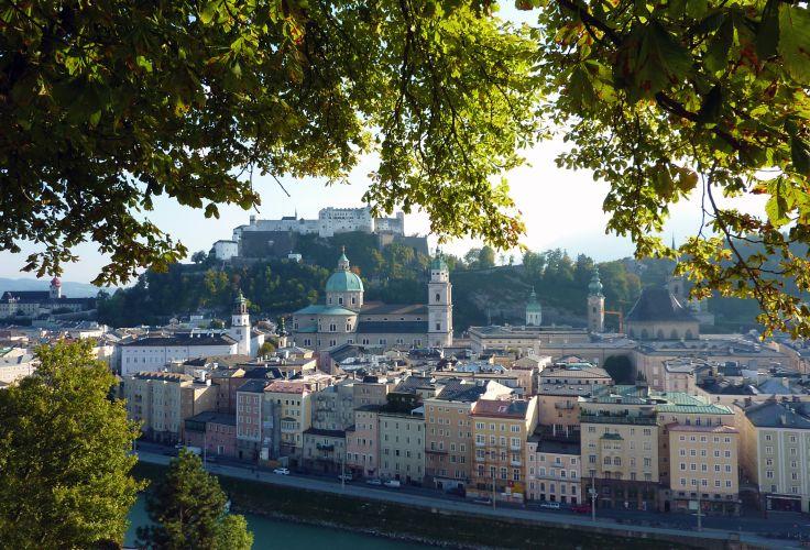Vue de Salzbourg - Autriche