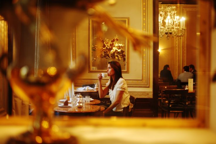 Dans le café viennois Demel - Vienne - Autriche