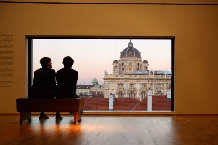 Vue depuis le Musée Leopold - Vienne - Autriche