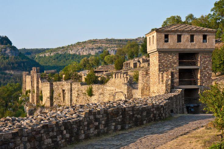 Forteresse de Tsarevets - Veliko Tarnovo - Bulgarie