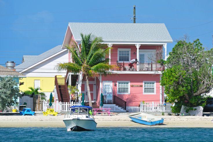 Habitation traditionnelle - Green Turtle Cay - Bahamas