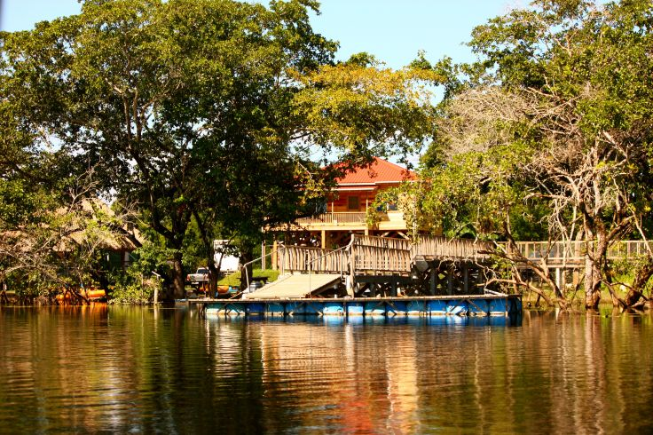 Environs de Lamanai - Belize
