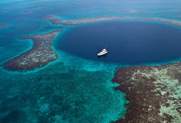 Grand Trou Bleu - Belize