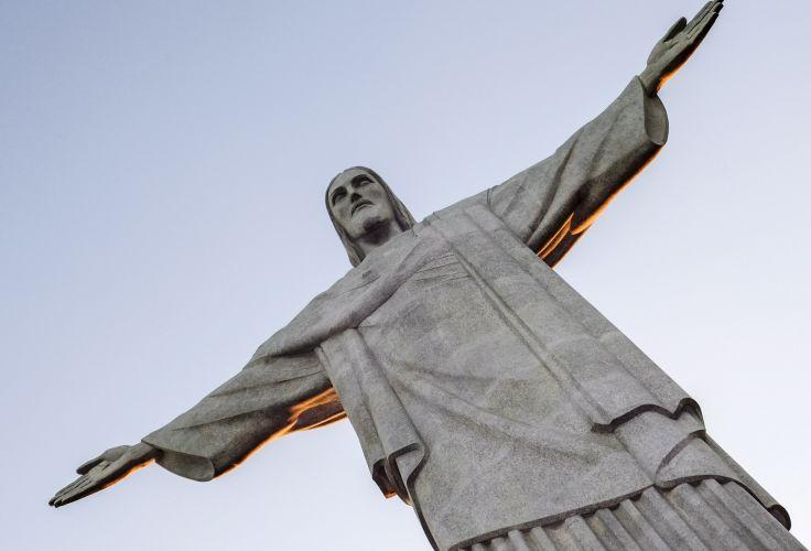 Statue du Christ Rédempteur - Corcovado - Rio de Janeiro - Brésil