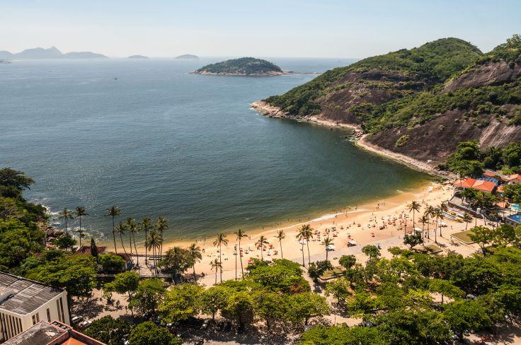 Plage de Vermelha - Rio de Janeiro - Brésil