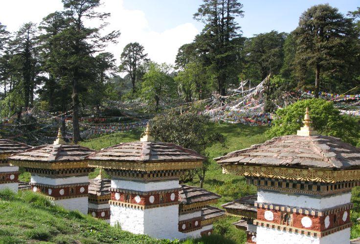 Entre Thimphu et Gangtey - Bhutan