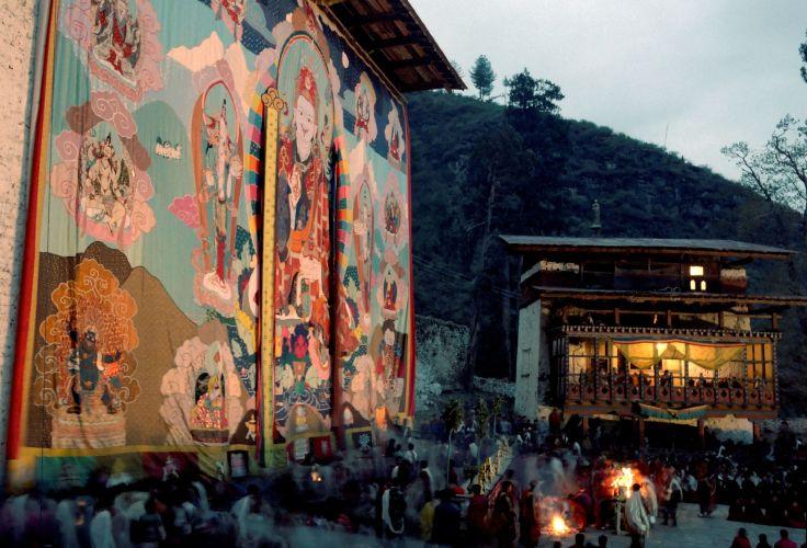 Festival de Tsechu - Paro - Bhoutan