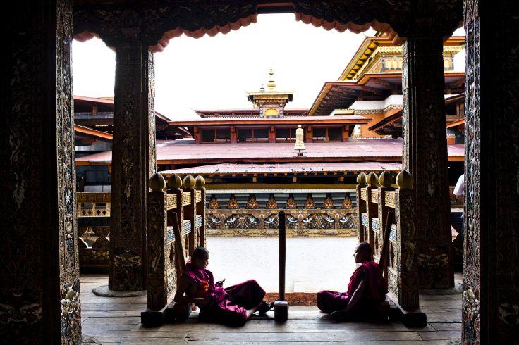 Dzong de Punakha - Bhoutan