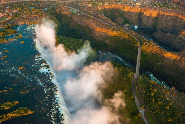 De Victoria Falls à l'Okavango - L'Afrique des grandes eaux