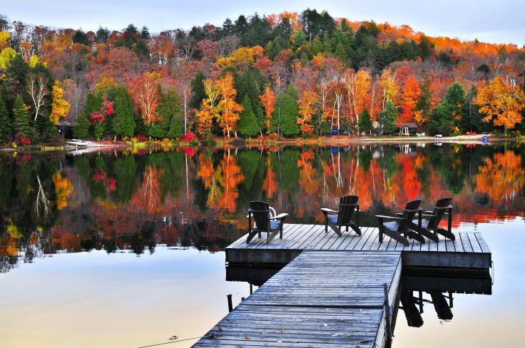 Un rêve d'été indien - L'automne au Québec