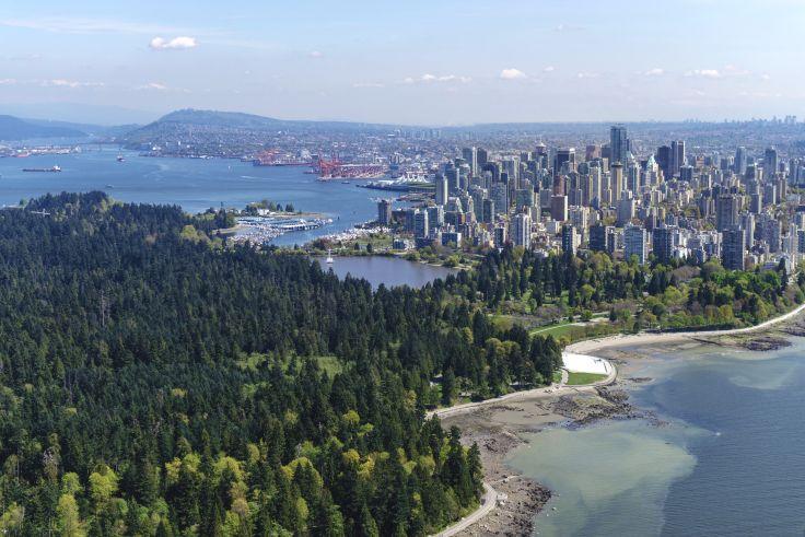 Forêts, gratte-ciel et Pacifique - Vancouver et ses îles