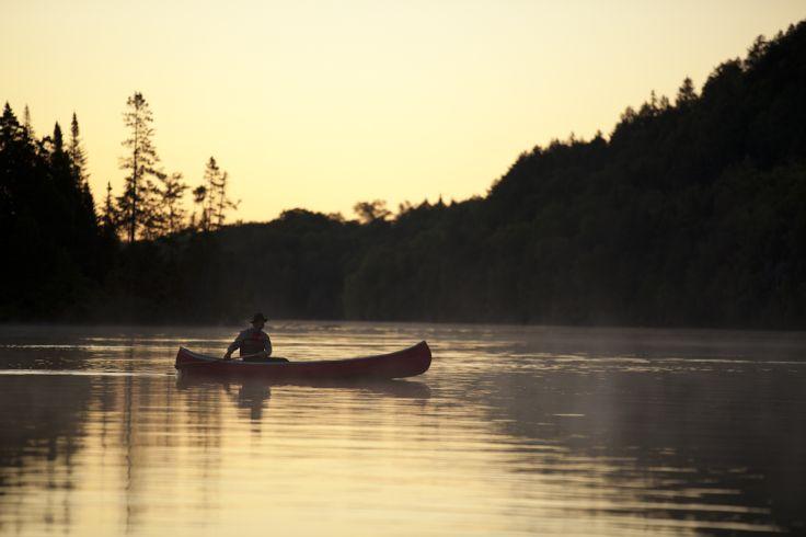 Lac-à-L'Eau-Claire - Saint-Alexis-des-Monts - Québec - Canada