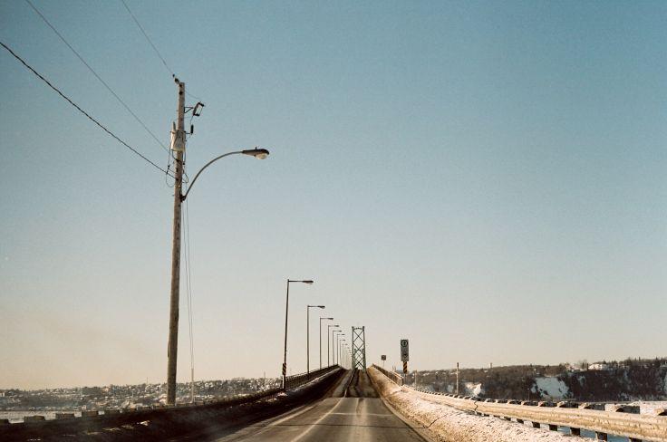 Pont de l'Île-d'Orléans - Québec - Canada
