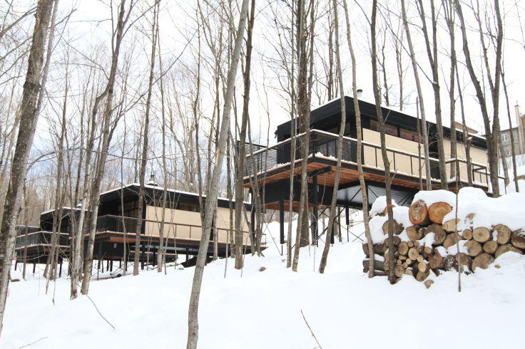 Un hiver québécois - Montréal, Québec & en chalet au Mont Sutton