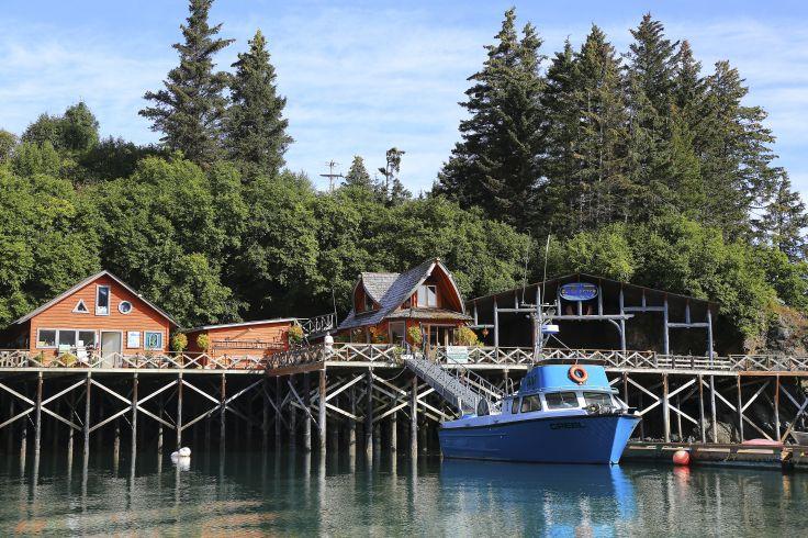 Halibut Cove - Alaska - Etats-Unis