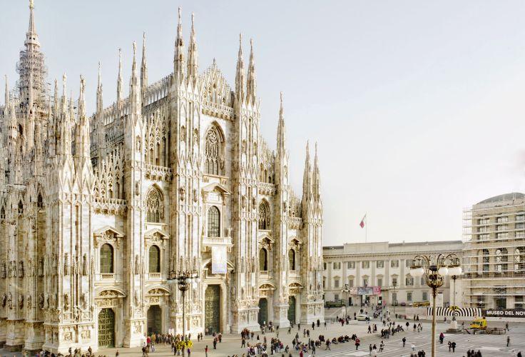 Dôme de Milan - Milan - Lombardie - Italie