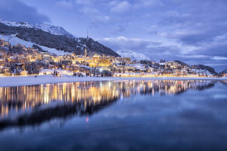 Saint-Moritz - Canton des Grisons - Suisse
