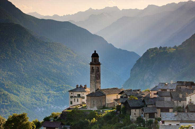 Soglio - Canton des Grisons - Suisse