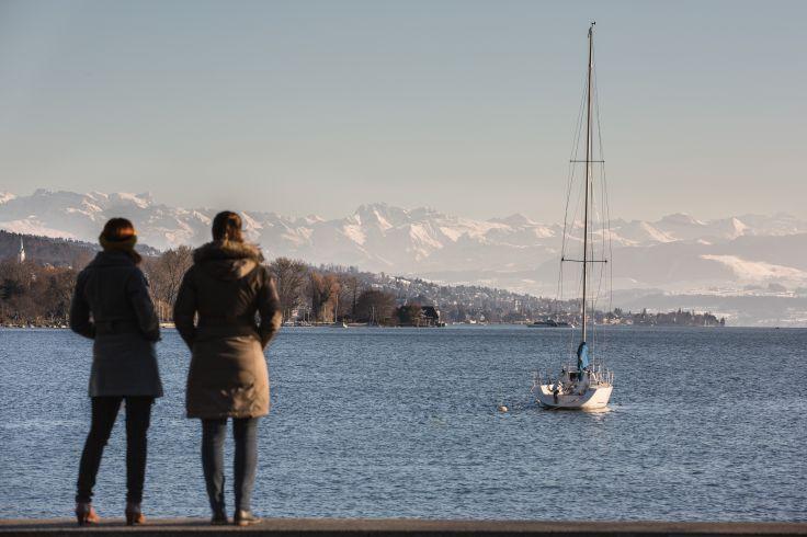 Lac de Zurich - Suisse