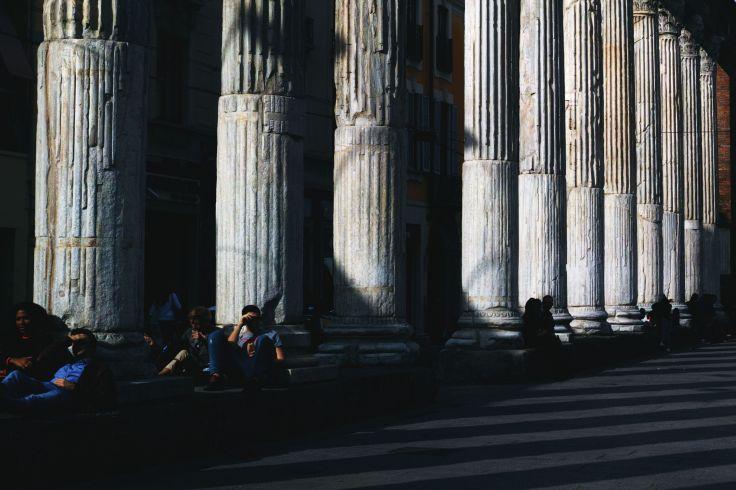 Colonne di San Lorenzo - Milan - Italie