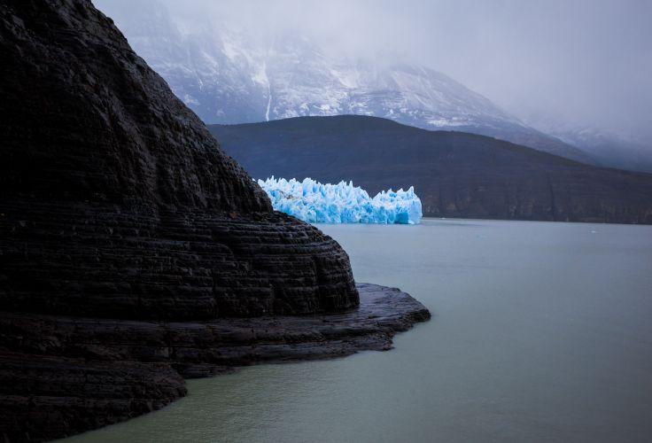 Glacier Grey - Parc Torres del Paine - Patagonie - Chili