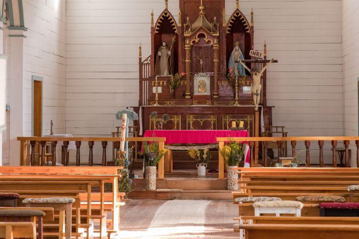 Eglise de Tenaún - Chiloé - Chili