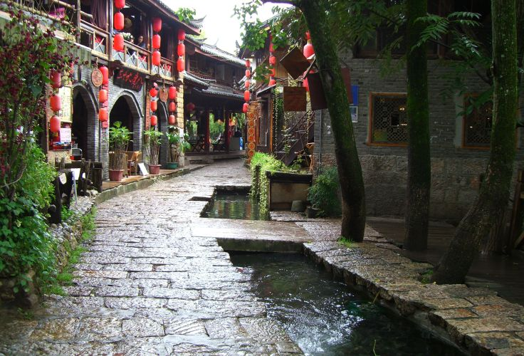 Village Shuhe - Yunnan - Chine