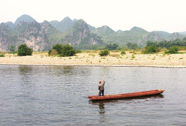 Entre Guilin et Yangshuo - Guangxi - Chine