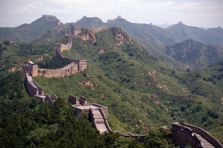 Grande Muraille - Badaling - Chine