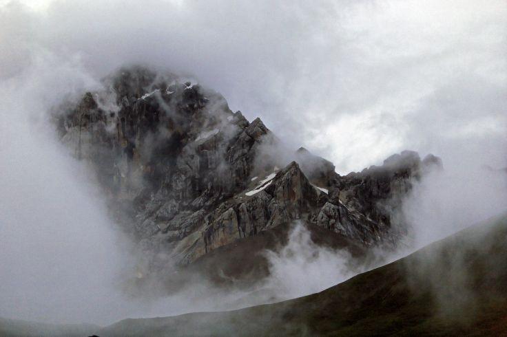 En route vers Gantzé - Col de Yurula - Tibet oriental