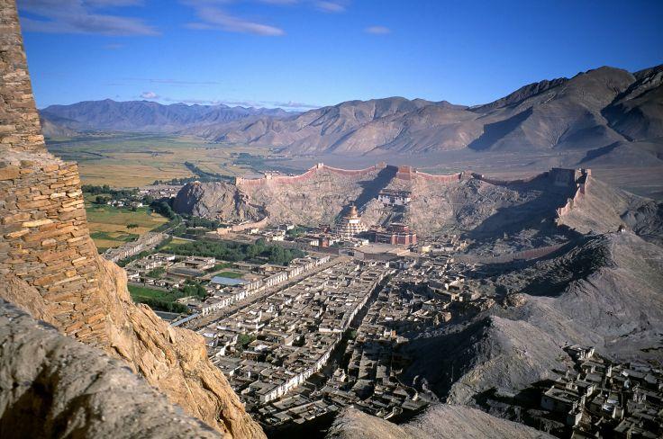 Forteresse de Gyantsé - Tibet