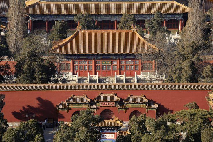 Les premiers pas en Chine