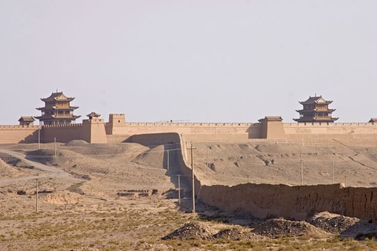 Grande muraille - Jiayuguan - Gansu - Chine