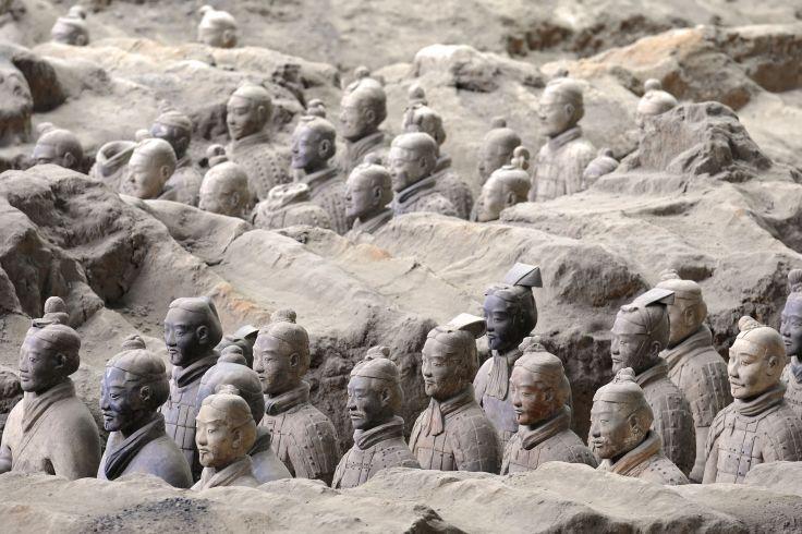Mausolée de l'empereur Qin - Xi'an - Shaanxi - Chine