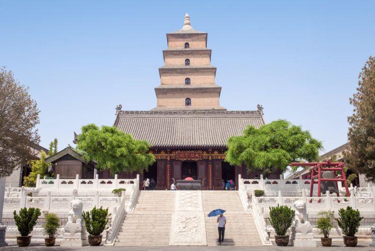 Grande pagode de l'oie sauvage - Xi'an - Shaanxi - Chine